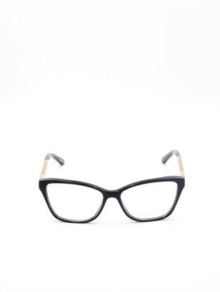 Chopard Eyewear Embellished Cat-Eye Frame Glasses