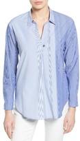Nic+Zoe Women's Stripe Skies Shirt