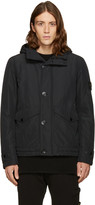 Stone Island Black Hooded Jacket