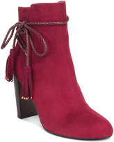 Thalia Sodi Palomaa Rope-Tie Booties, Only at Macy's
