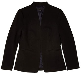 J.Crew Going-Out Blazer in Stretch Twill (Black) Women's Clothing
