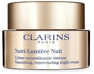 Clarins Nutri-Lumiere Nuit Nourishing, Rejuvenating Night Cream