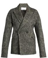 Raey Peak-lapel herringbone jacket