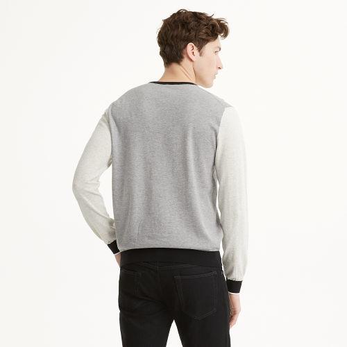 Club Monaco Color-Block Crew Sweater