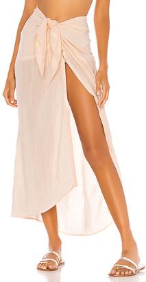 Vix Paula Hermanny Ruffle Pareo Skirt