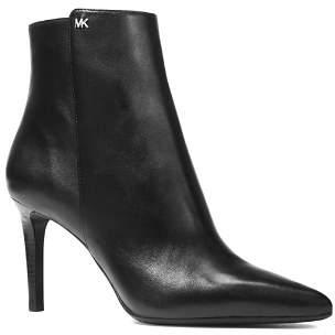 MICHAEL Michael Kors Women's Dorothy Leather High-Heel Booties