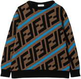 Fendi kids ff logo sweater