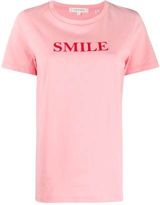 Chinti and Parker Smile print T-shirt
