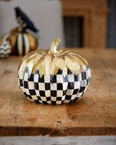 Mackenzie Childs MacKenzie-Childs Small Golden Frost Pumpkin