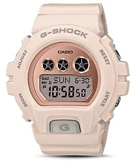 G-Shock S Series Blush-Tone Watch, 46mm