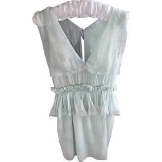 Zac Posen Blue Cotton Dress for Women