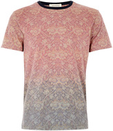 Topman Taxonomy Ombre T-shirt