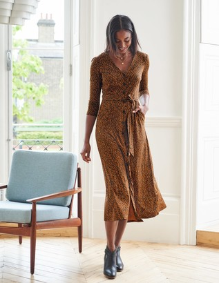 Fleur Jersey Midi Dress