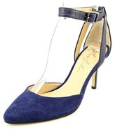 Marc Fisher Women's Hien Ankle Strap Pumps, Blue Multi, Size 6.0