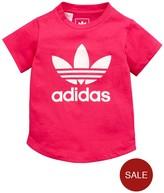 adidas Baby Girl Colour Trefoil Tee