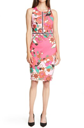 Ted Baker Marloww Pinata Floral Sheath Dress