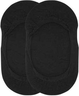 M&Co Non slip footlet pack of two pairs