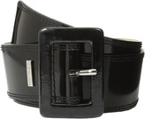 Calvin Klein 2 1/8 Patent Covered Buckle Women's Belts