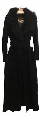 Plein Sud Jeans Black Suede Coats