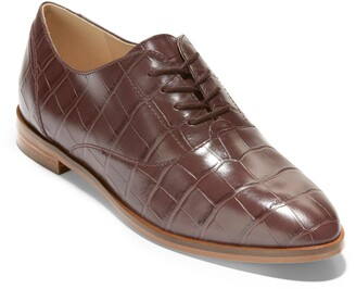 Cole Haan Modern Classics Embossed Oxford