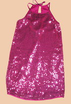Magenta Sequin Dress