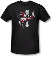 Batman Mens Harley And Joker T-Shirt In