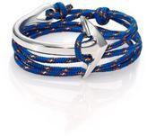 Miansai Half Anchor Cuff Rope Bracelet/Silvertone