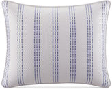 "Nautica Eldridge Embroidered Stripe 14"" x 18"" Decorative Pillow"