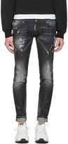 DSQUARED2 Black Clement Jeans