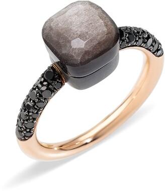 Pomellato Nudo Petit Obsidian Ring