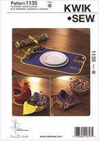 McCall Pattern Placemat, Bunholders, Casserole Holder-No