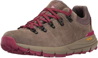 "Danner Women's Mountain 600 Low 3"" Gray/Plum Hiking Boot 6 M US"