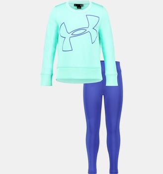 Under Armour Girls' Infant UA Big Logo Tunic Set