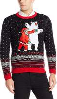 Blizzard Bay Men's Santa Sucker Punch Ugly Christmas Sweater