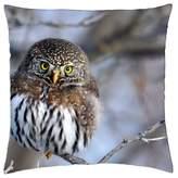 "iRocket - Owl - Throw Pillow Cover (20"" x 20"", 50cm x 50cm)"