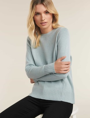 Ever New Libby Ribbed Hem Sweater