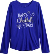 So Girls 6-20 & Plus Size SO Long Sleeve Graphic Tee