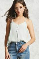 Forever 21 FOREVER 21+ Button Front Cami