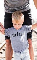 Ily Couture Mini Gray Tee - Kids
