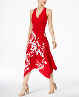 INC International Concepts Printed Cutout-Back Dress, Only at Macy's