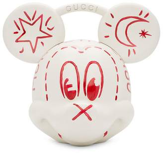 Gucci White Disney Edition Mickey Mouse Top Handle Bag