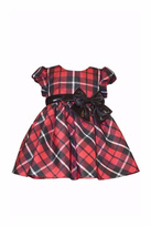 Bonnie Jean Plaid Christmas Dress