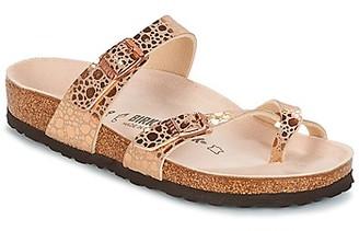 Birkenstock MAYARI women's Flip flops / Sandals (Shoes) in Pink