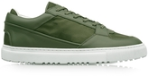 Etq Amsterdam Low 3 Green Camo Rubberized Canvas Men's Sneaker