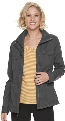 Sonoma Goods For Life Women's SONOMA Goods for Life Utility Twill Jacket
