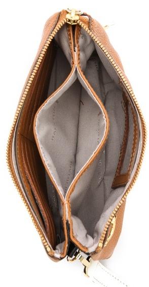 Halston Double Gusset Mini Bag