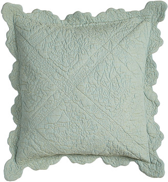 """Amity Home Zella Quilted Pillow, 18""""Sq."""