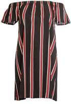 Quiz **Quiz Striped Bardot Tunic Dress