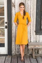 Shabby Apple Ali Dress Mustard