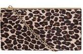 Dorothy Perkins Womens Leopard Structured Clutch Bag- Leopard